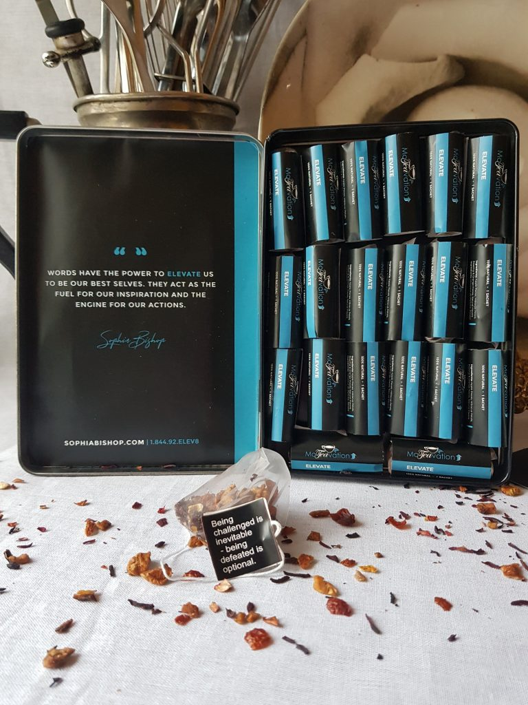 ELEVATE- HIBISCUS AND ORANGE HERBAL TEA